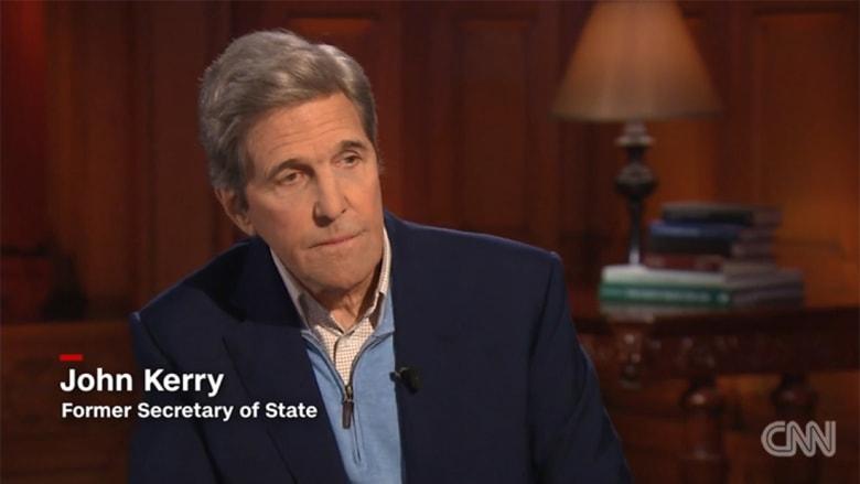 """حصريا.. كيري يهاجم بومبيو وخطابه في مصر.. ويوضح """"لحظة الخزي"""""""