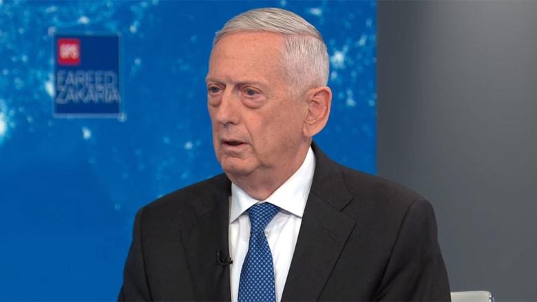 وزير دفاع أمريكا السابق يوضح لـCNN أكبر خطر يهدد بلاده