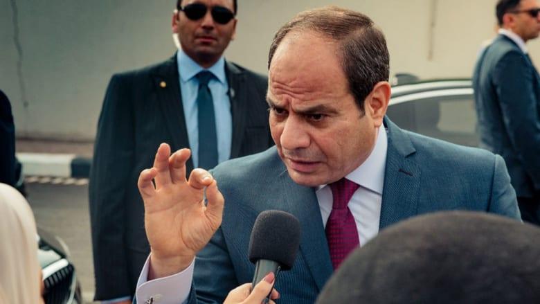 فيديو استقبال السيسي.. والرئيس عن دعوات التظاهر: لا يمكن خداع المصريين ولا داعي للقلق