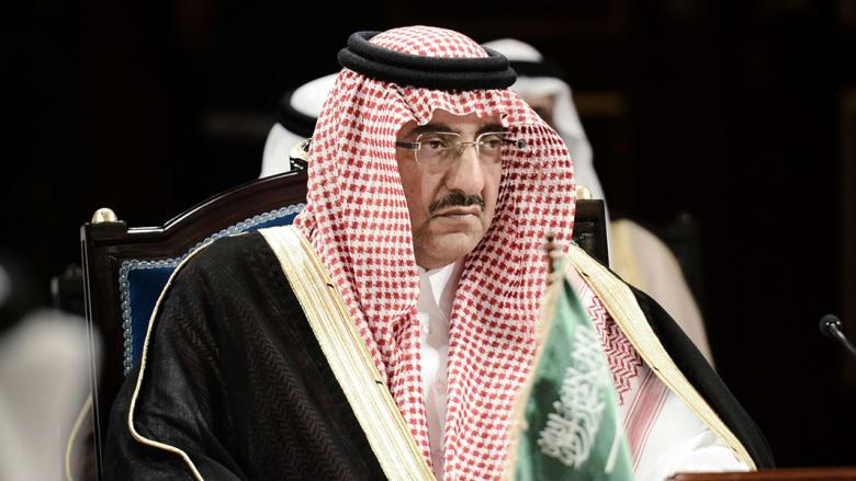 """تداول فيديو """"تأثر"""" الأمير محمد بن نايف بعزاء عبدالعزيز الفغم حارس الملك سلمان"""