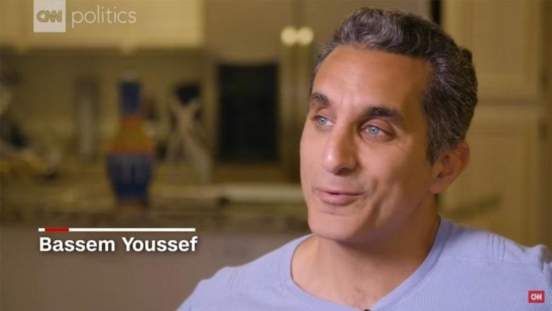 باسم يوسف يهاجم عمرو أديب: هل هتعتذر عن عرض فيديوهات اعتراف أردنيين وسوداني؟
