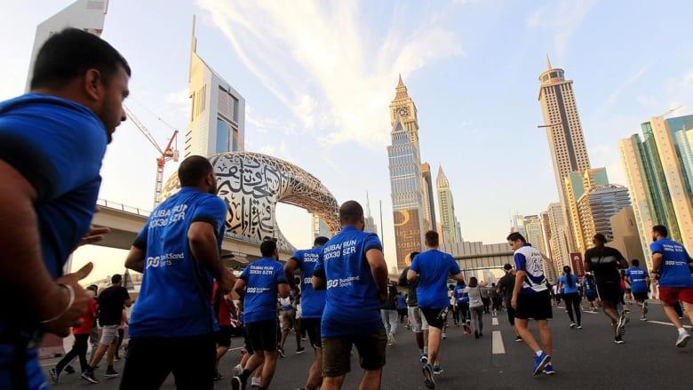 تحدي دبي للجري