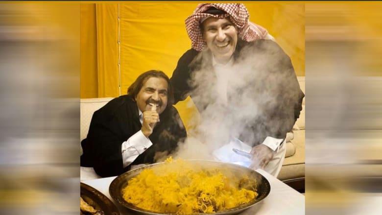 """صور أمير قطر """"الوالد"""" مع رئيس وزرائه تثير تفاعلا عبر تويتر"""