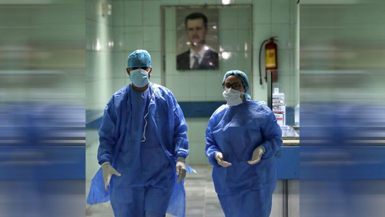 صورة أرشيفية داخل مستشفى في سوريا