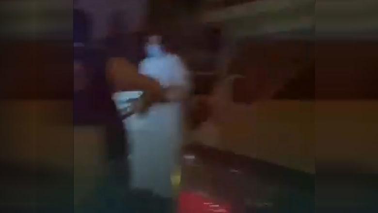 من فيديو الأمن السعودي خلال الكمين