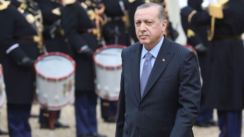 صورة أرشيفية للرئيس التركي رجب طيب اردوغان العام 2018
