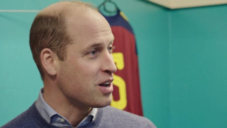 الأمير وليام يكشف كيف ساعد بصره الضعيف في التحدث أمام الجمهور