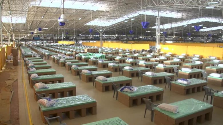 نظرة داخل أكبر مستشفى ميداني لفيروس كورونا في العالم