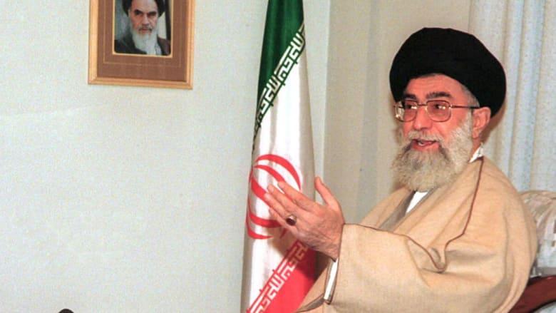 صورة أرشيفية للمرشد الأعلى بإيران علي خامنئي