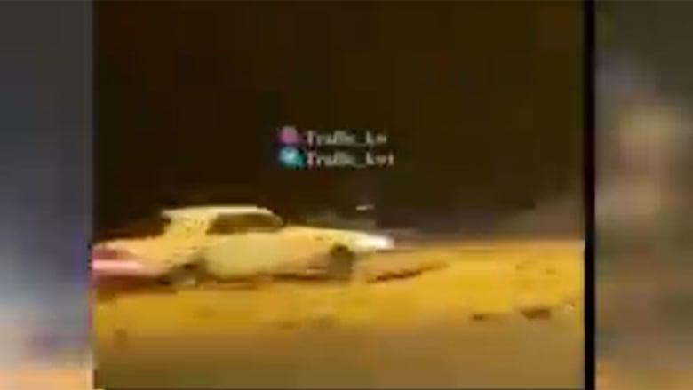 صورة منمقطع الفيديو الذي نشرته الداخلية الكويتية