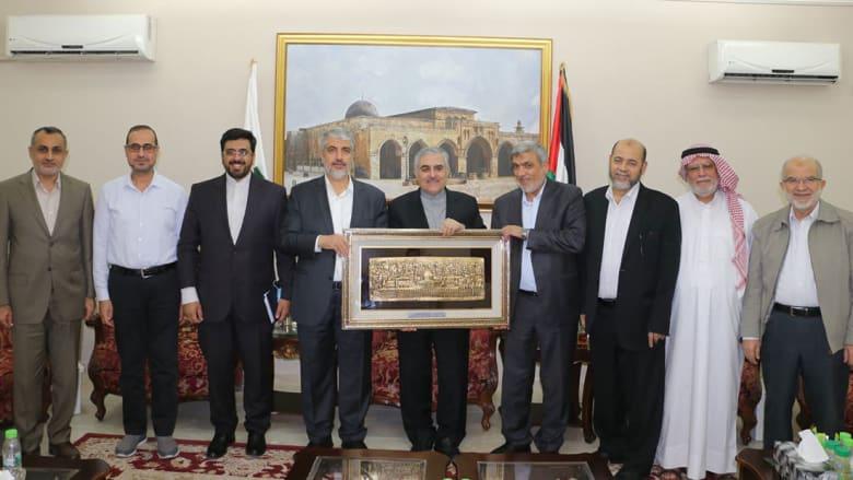 تكريم السفير الإيراني في قطر