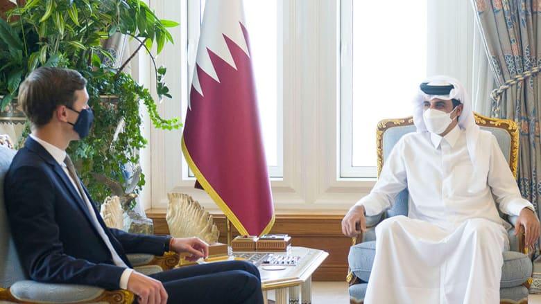 أمير قطر باستقبال جاريد كوشنر
