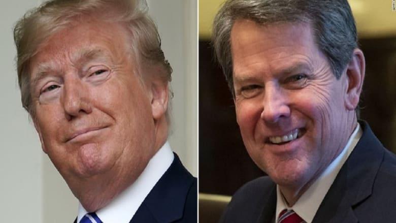 مصدر: ترامب ضغط على حاكم جورجيا لإقناع مُشرعي الولاية بإلغاء فوز بايدن