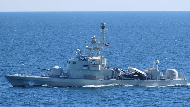 الجيش الأمريكي ينشر صورتدريب بحري مشترك مع قارب دوريات إماراتي