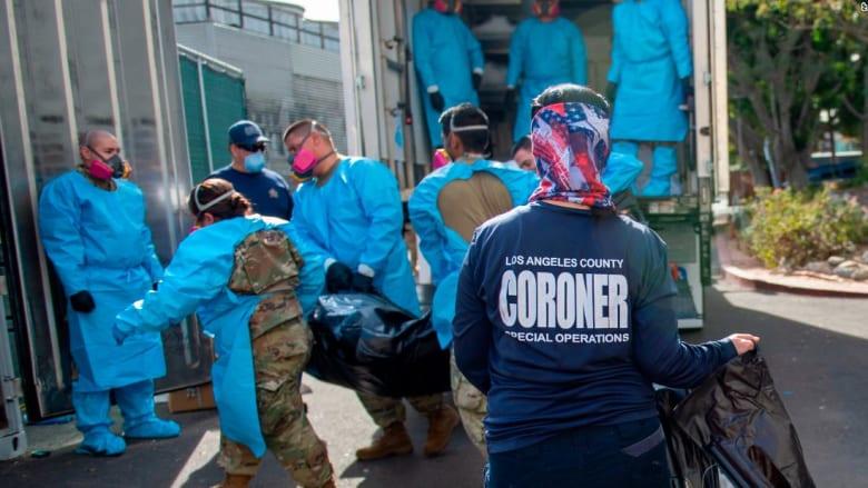 مقاطعة لوس أنجلوس تسجل أكثر من مليون حالة إصابة بفيروس كورونا