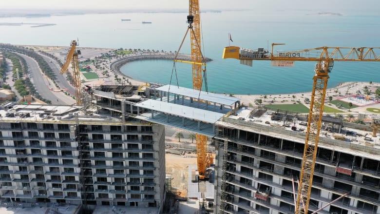 تدشين أطول جسر معلق في الإمارات الشمالية