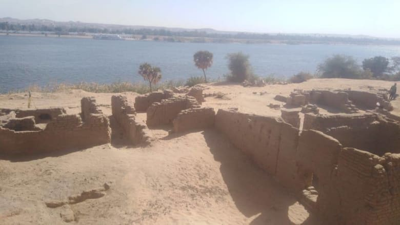 مصر تعلن الكشف عن بقايا حصن روماني بأسوان