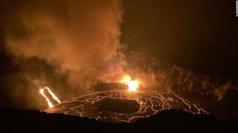 عودة الحمم البركانية تعيد الأمل في تعافي هاواي