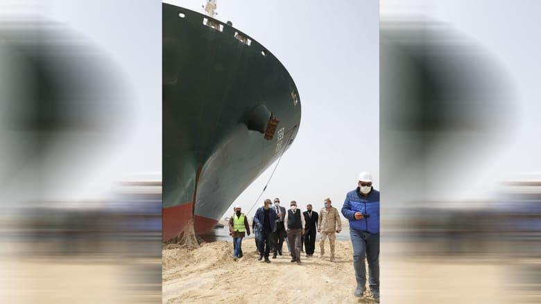 15 إلى 20 ألف متر مكعب من الرمل يجب إزالته لتعويم السفينة في السويس