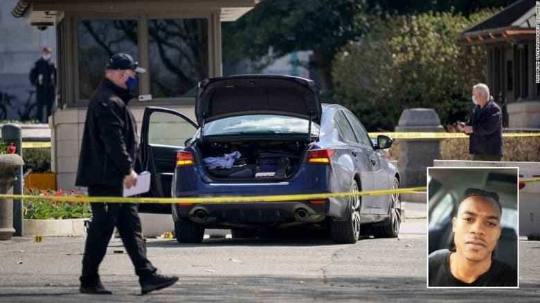 صدمهم بسيارته ثم ترجل منها حاملا سكينا.. هكذا هاجم نوح شرطة الكونغرس