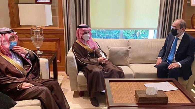 وفد سعودي رفيع في الأردن يحمل رسالة للملك عبدالله الثاني