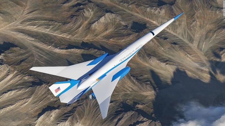 الطائرة الرئاسية الأمريكية الأسرع من الصوت