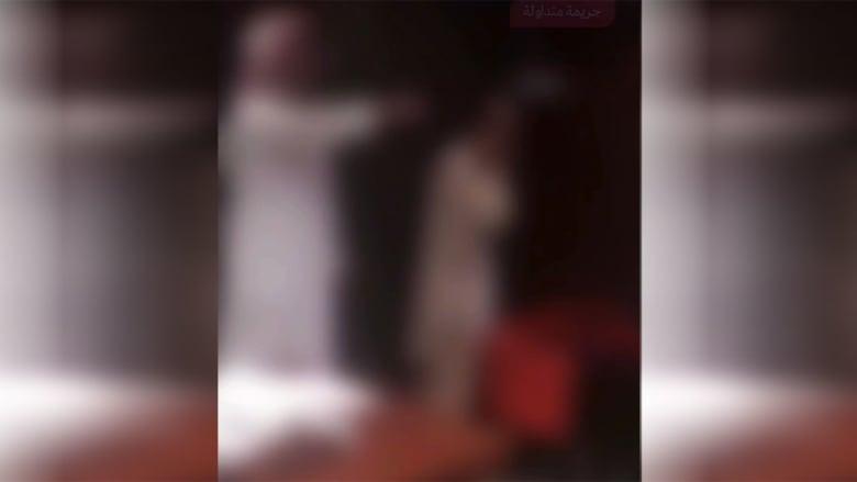 صورة من الفيديو المتداول الذي نشرته الداخلية السعودية