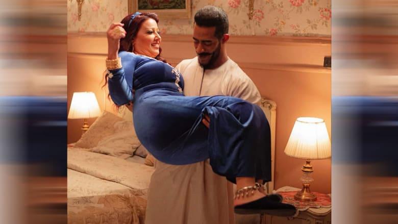 لقطة من مسلسل موسى نشرها محمد رمضان على صفحته بفيسبوك