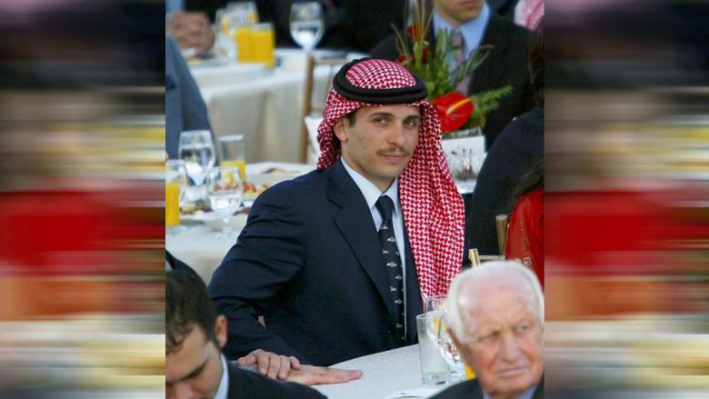 صورة أرشيفية للأمير حمزة بن الحسين بإحدى المناسبات العام 2004