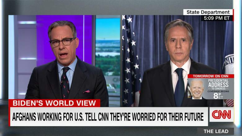 انتوني بلينكن وزير الخارجية الأمريكي