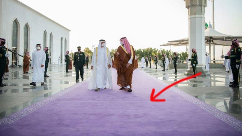 استقبال ولي العهد السعودي لولي عهد أبوظبي