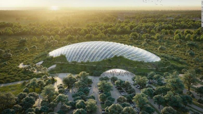 تصميم يكشف عن أكبر دفيئة ذات قبة واحدة بالعالم في فرنسا