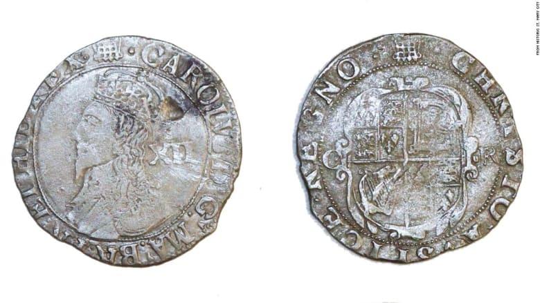 العثور على عملة إنجليزية نادرة بعد حوالي 400 عام في مستوطنة ماريلاند