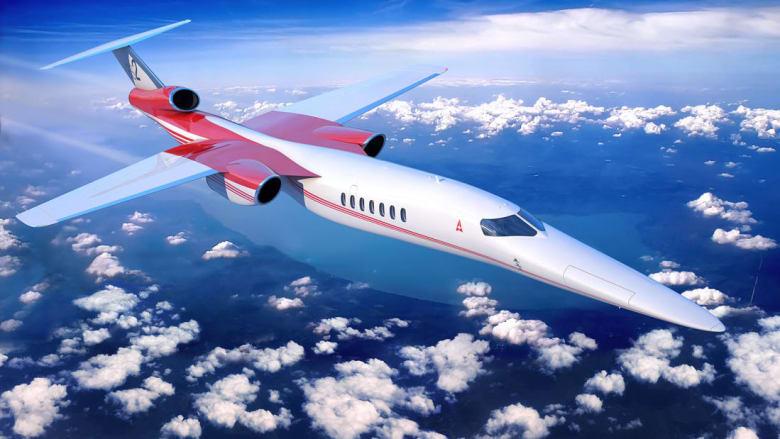 شركة إيريون تعليق تطوير طائرة الركاب الأسرع من الصوت
