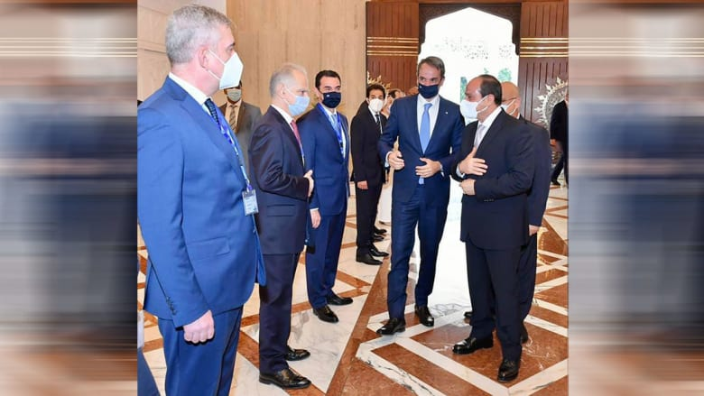من استقبال السيسي لرئيس وزراء اليونان