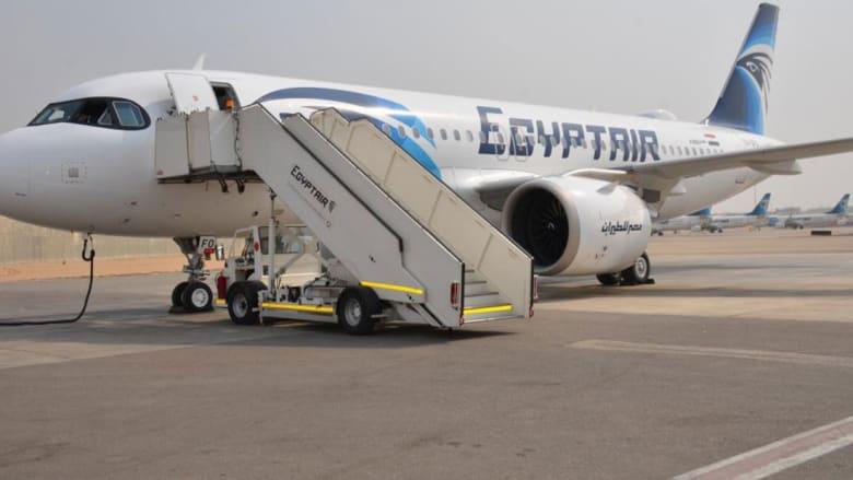 صورة أرشيفية لطائرة تابعة لشركة مصر للطيران