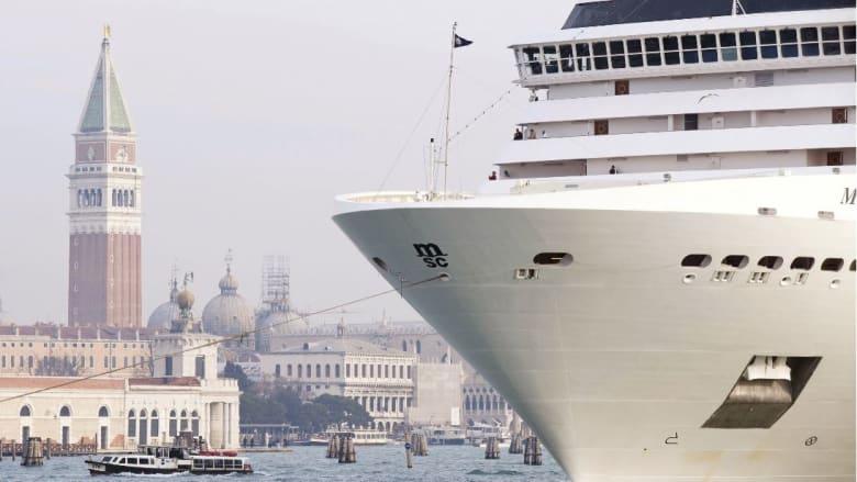 """احتمال إدراج مدينة البندقية الإيطالية بقائمة يونسكو للمواقع """"المعرضة للخطر"""""""