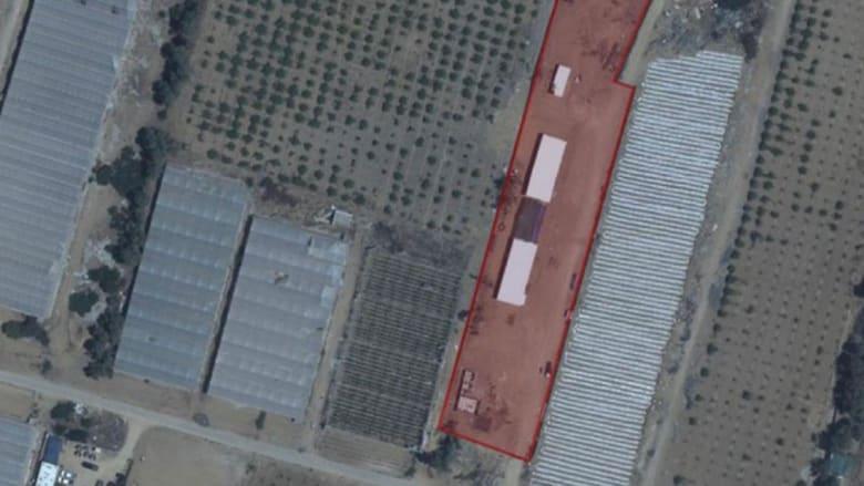 الموقع المستهدف وفقا للجيش الإسرائيلي