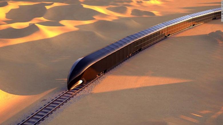 """""""قصر على القضبان"""".. الكشف عن مفهوم قطار فاخر بقيمة 350 مليون دولار"""