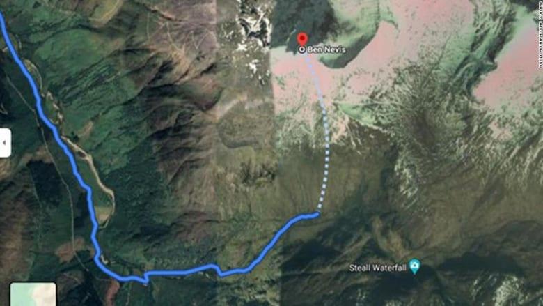 """اتهام خرائط غوغل بعرض مسارات جبلية للمشي """"قد تكون قاتلة"""""""