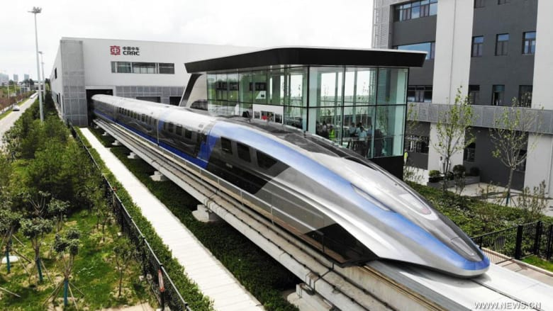 القطار الصيني