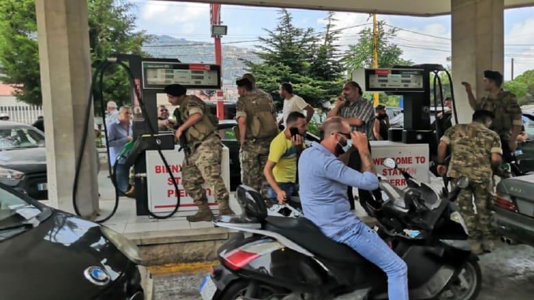 مداهمات للجيش اللبناني على محطات وقود