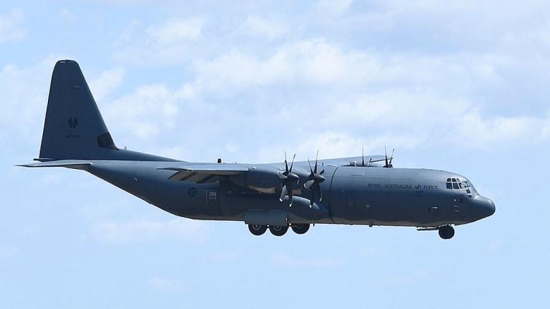 صورة أرشيفية لطائرة C130