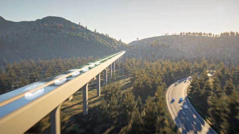 فيرجن هايبرلوب تطلق لمحة جديدة لكبسولة ركاب تصل سرعتها لـ670 ميل في الساعة