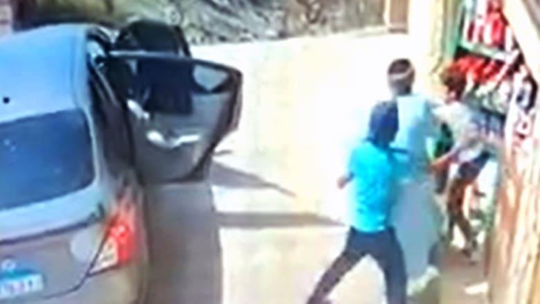 صورة من فيديو عملية الخطف المتداولة