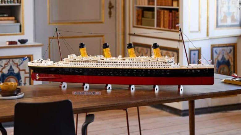 أكبر مجموعة على الإطلاق.. ليغو تطلق نموذجًا مصغرًا عن تيتانيك
