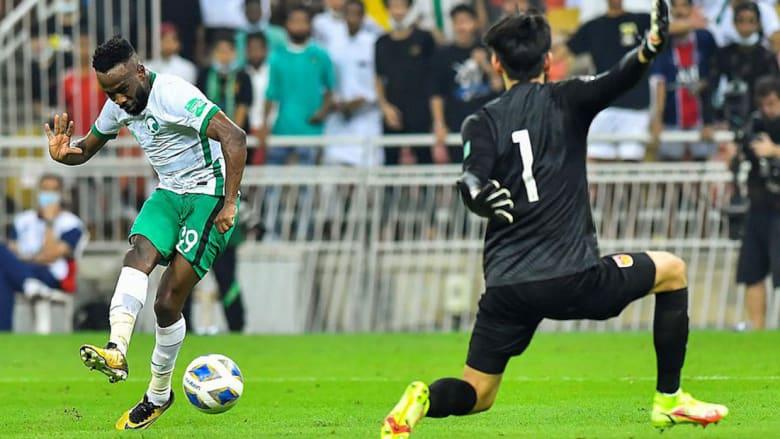 تصفيات مونديال 2022.. السعودية تهزم الصين برابع فوز على التوالي وتتصدر تويتر