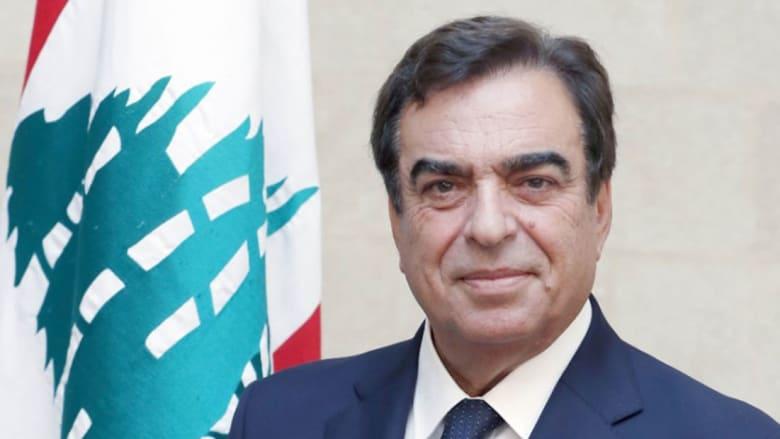 وزير الإعلام اللبناني، جورج قرداحي