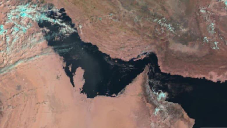 صو رة نشرتها أرصاد قطر متوقعة أمطارا متفرقة الجمعة