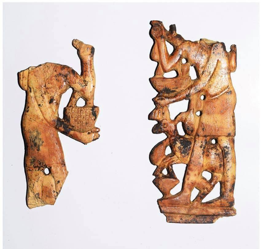 اكتشاف أدوات مستخدمة في طقوس دينية بمعبد أثري شمال مصر